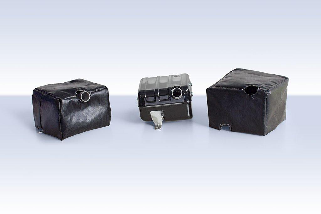 Coibentazioni di parti calde di generatori / compressori